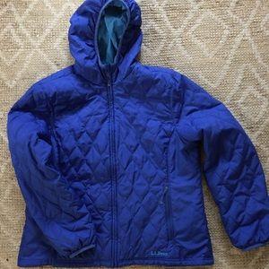 Ll Bean puffer coat